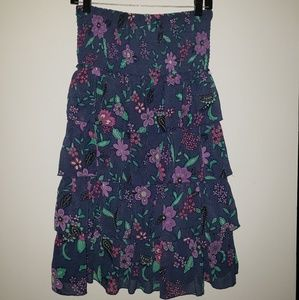American Eagle Floral Dress Size Medium